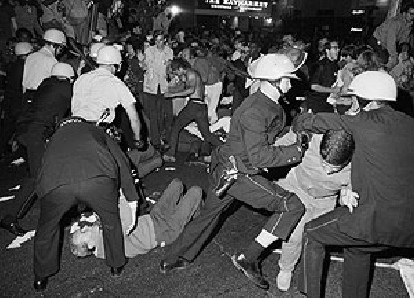 Rioting at the 1968 Democratic National Convention