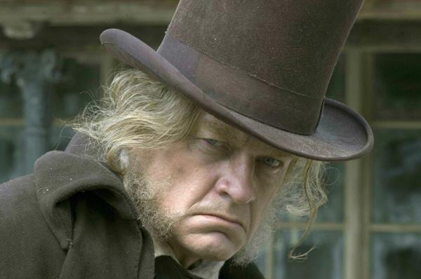 Scrooge & redistribution.