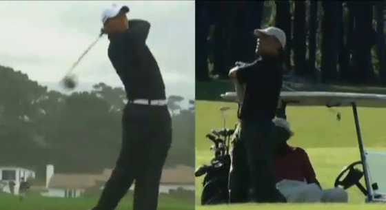 obama golf screen grab