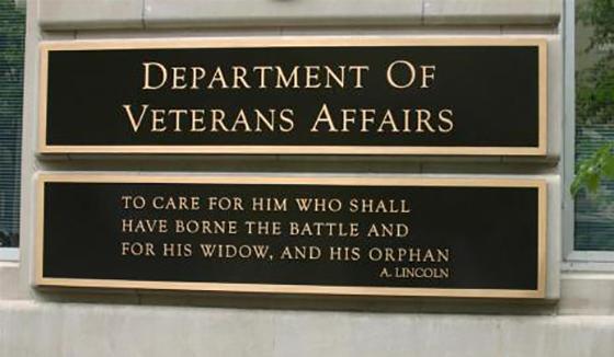veterans affairs plaque 02