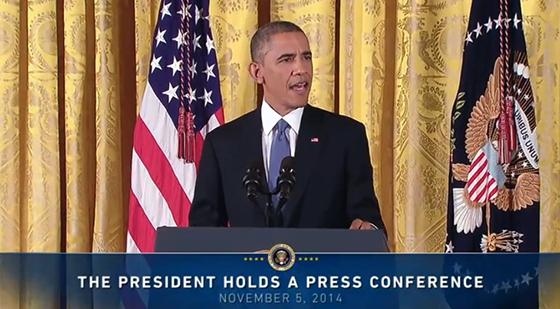 obama presser middterm election